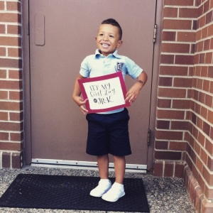 first day of preschool 014